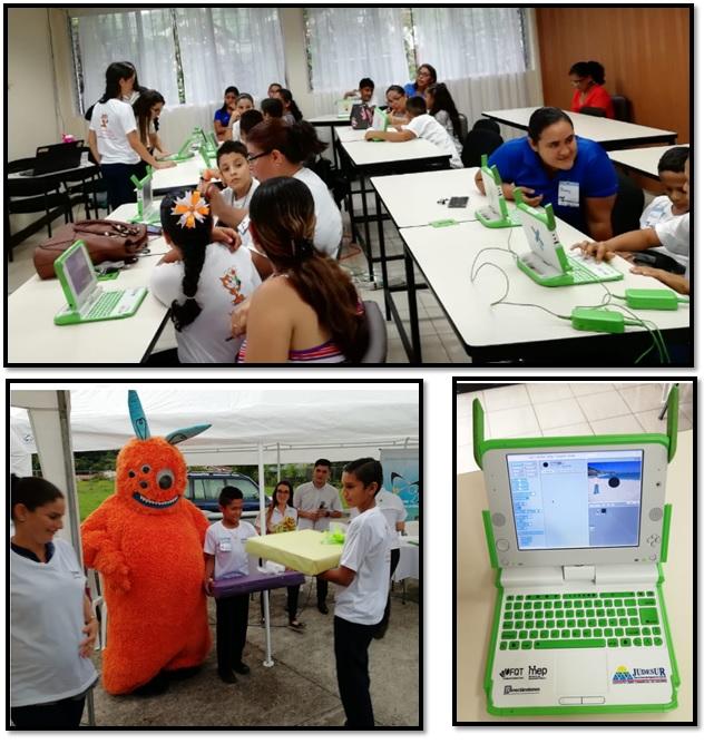 """Imagen """"Implementación del Proyecto Conectándonos (una computadora por niño) en los cantones de Golfito, Osa, Corredores, Coto Brus y Buenos Aires de Puntarenas"""""""